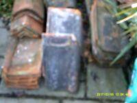 Single Roman Roof Tiles second hand