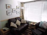 Cornwall/Devon Holiday autumn break 2 bed hol chalet set in manor house grounds allows dogs sleeps 5