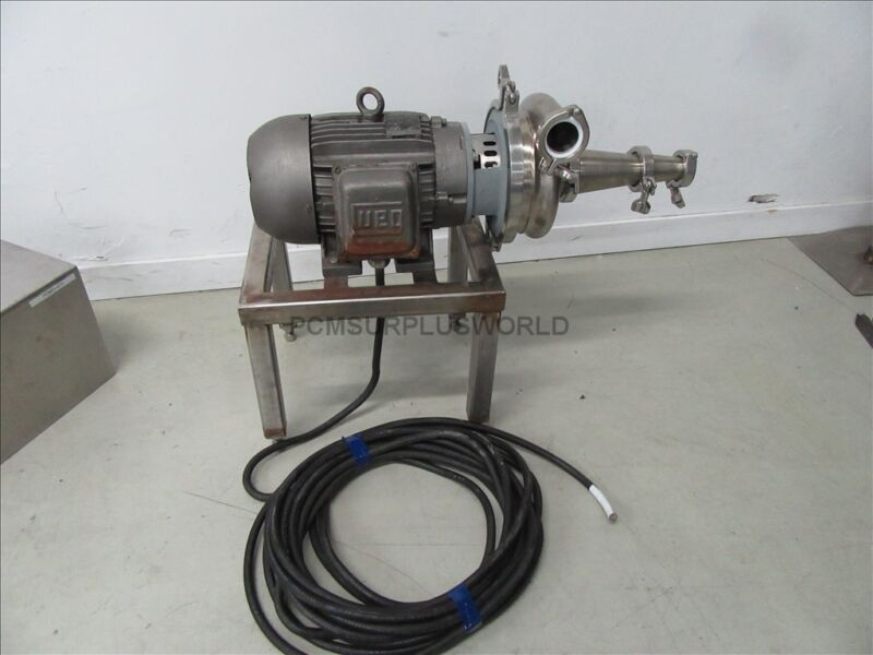 Cherry Burrell Stainless Steel Centrifugal Waukesha Pump 2065 (Used and Tested)