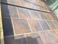 Castercreet autum gold paving