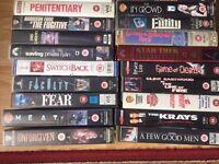 ob lot vhs films. Various artists.
