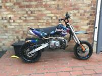 Stomp pitbike 110 with spares ktm rmz cr