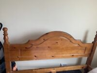 Solid wood King Size