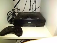 Sega Saturn, 1 Controller and 1 Game