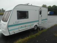 2001 coachman pastiche 460/2 with awning £2900