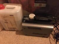 Prosound 800 smoke machine in very good condition + some fluid