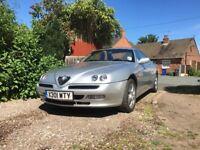Alfa Romeo GTV 2.0ts Lusso Silver 2001