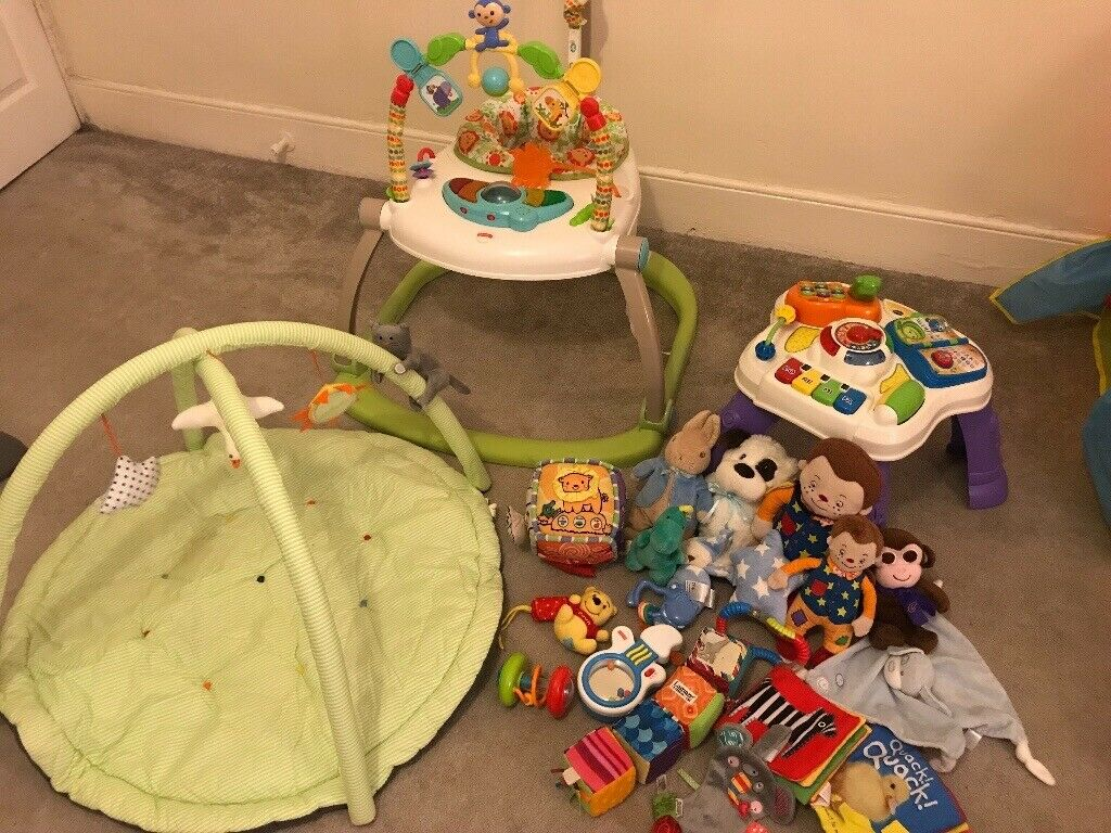 168bad795 Baby Toy bundle inc Fisher price Jumperoo