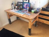 Solid pine children pull-out desk FLEXA *Moving Sale*