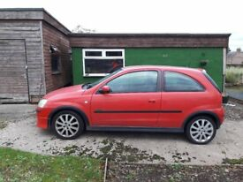 Vauxhall Corsa for sale. Good condition. Clean car.