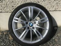 18INCH 5/120 BMW MV3 ALLOY WHEELS WITH TYRES FIT MOST MODELS