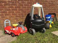 Kids ride ons toys x4