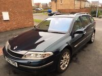 DIESEL LAGUNA ESTATE. ONLY 2 OWNERS FROM NEW similar to Mondeo avensis v40 v70 vectra primera Saab