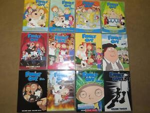 FAMILY GUY SEASON 1 TO 12 + 2 SPECIAL ISSUES Kitchener / Waterloo Kitchener Area image 1