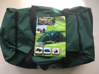 Tent Pack 4 person (deluxe) Halfords . 2 double air beds,