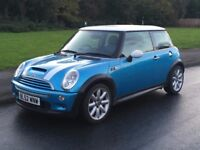 MINI COOPER S 2003 1.6 FULL SERVICE HISTORY + INVOICES NEW TIMING CHAIN KIT REPLACED XENON LIGHTS