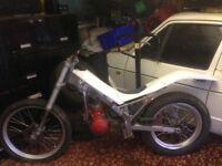Gas gas 250cc trials bike
