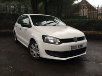 2011 (11) Volkswagen Polo ** In White ** Full Service History ** 12 Month Mot **