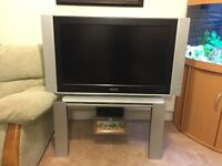 "Philips 37"" TV and Matching Stand"