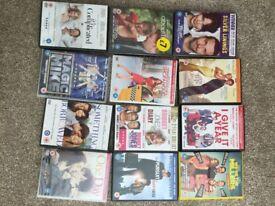 Various romcom / chick flick dvd's