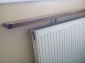 4 ft radiator shelf