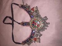 Afghan vintage headpiece jewellery