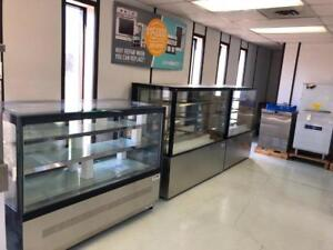 BRAND NEW  DELI/PASTRY COOLERS