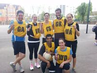 Netball Players and teams needed for Mixed and Ladies League SW6