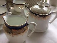 Unusual dolls tea set