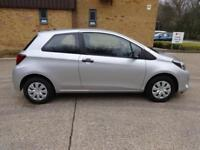 Toyota Yaris VVT-I Active 3dr (silver) 2015