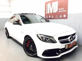 2017 MERCEDES C63 S ** AMG EXHAUST ** HUGE SPEC