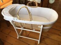 John Lewis Moses basket/bassinet
