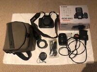 Canon 600D with EF-S 18-55mm IS II Lens and Carry Case