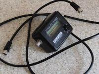 Konig satellite finder with lead