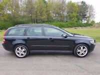 2007 VOLVO V50 2.0 D SE DIESEL MANUAL 200K WITH M/D S/H 16 STAMPS UP TO 198K IN PRISTINE CONDITION