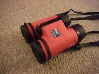 RSPB Puffin binoculars 8x32 pink