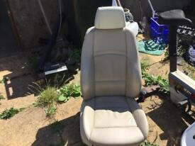 BMW 1 series convertible leather seats
