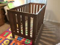 Cot Bed - Next - Solid Oak - Immaculate Condition