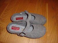 New 100% merino wool slipper shoes, Italian