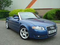 Audi A4 Cabriolet 2.0 TDI 140 BHP 6 SPEED Manual S-Line,Sport 169.000 Miles,Full Service History