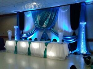 Wedding Decor, Chair Covers ,Sashes,Tablecloths,Table Runners Windsor Region Ontario image 3