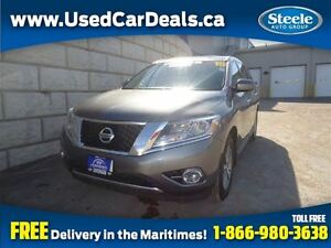 2015 Nissan Pathfinder S 4X4 V6 7 Pass Alloys Cruise