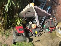4 lawn movers spares repairs