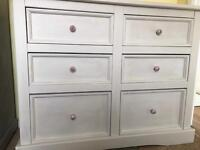 Up Cycled Large Solid Pine Chest of Drawers/Dresser (Free Delivery)