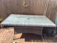 Garden table by moda 160x100