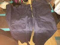 2x 34regular work combat pants collect leigh