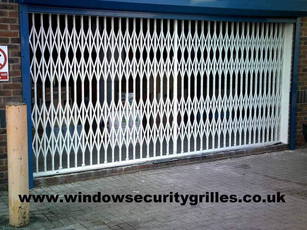 Concertina Security Doors