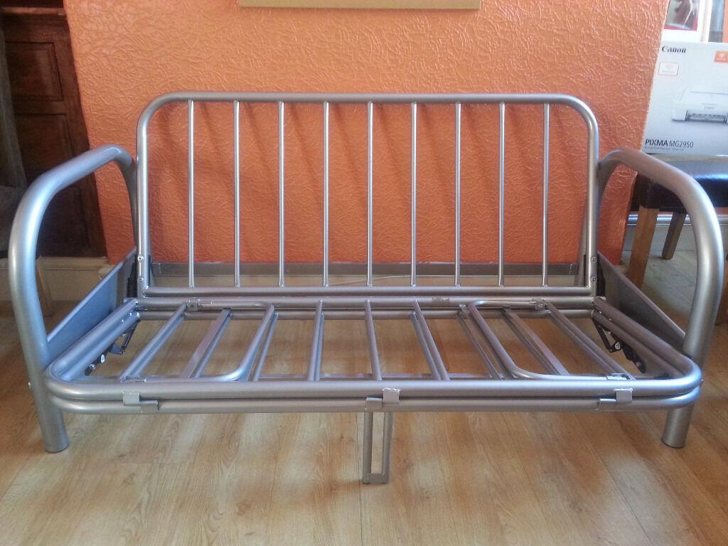 argos futon double size metal frame argos futon double size metal frame   in st helens merseyside      rh   gumtree