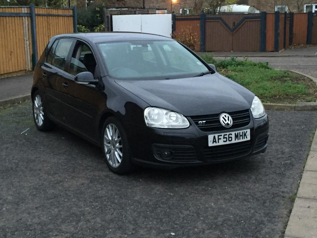 VW GOLF GT TDI SPORT DPF 170BHP 56 *CAM BELT WATER PUMP CHANGED*