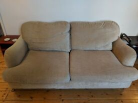 Lovely 3 Seater Beige Sofa (QUICK SALE)